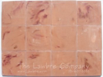 1024 - 1'' Square Flooring Tiles - Travertine (60 pcs.)