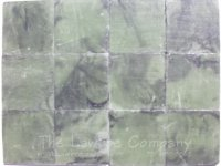 1025 - 1'' Square Flooring Tiles - Green ''Marble'' (60 pcs.)