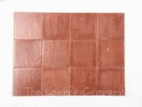 1030 - 1'' Square Flooring Tiles - Quarry ''Marble'' (60 pcs.)