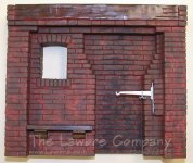 1062 - Early American Kitchen Fireplace - Finished Brick Red