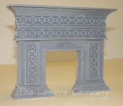 1093 - Gothic Fireplace
