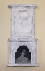 1098 - Framed Fireplace