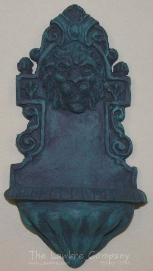 0154 - (V) Lion Wall Fountain - Click Image to Close