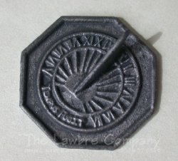 0307 - Sundial Only - Antique Finish