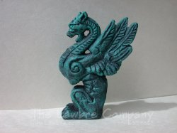 0314 - (V) Griffin Statuary (Newel)