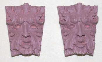 0412 - (T) Leaf Man Mask - Pair