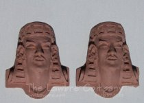 0414 - (T) Egyptian Mask - Pair