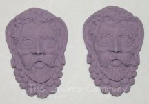 0415 - (T) Bacchus Mask - Pair