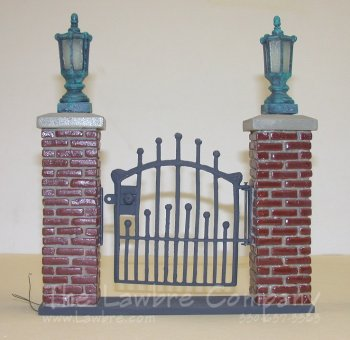 0451 - Brick & ''Iron'' Gate Unit Kit, Unpainted