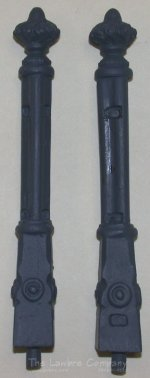 0461 - (B) ''Iron'' Fence Posts 2/pk., Finished