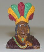 0606 - (H) Cigar Store Indian - Bust