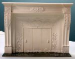 AE221 - Renaissance Revival Mantle