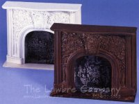 AE230 - Victorian Carved Mantle