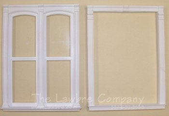 AE363 - Double Segmented Window - Tall