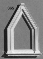 AE365 - Single Gable Window - Center
