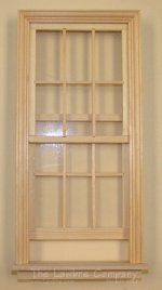 AE430 - Tall 12-Light Working Wood Window