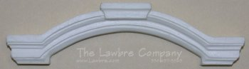 AE454 - Cast Curved Over-Window Pediment