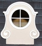 AE478 - Cast Oeil-de-Boeuf Dormer Window
