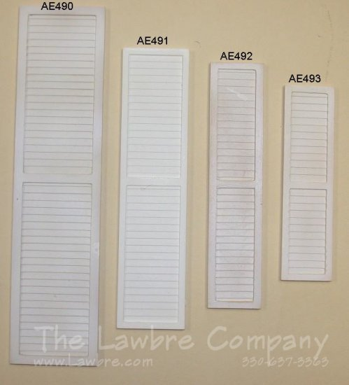 AE490 - Rosedawn Cast Shutter - Click Image to Close