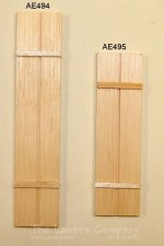 AE494 - Medium ''Wood'' Shutter