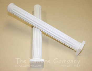 AE575 - Full Round Fluted Column w/Block