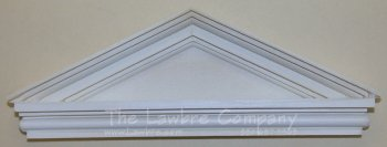 AE586 - Simple Triangular Pediment