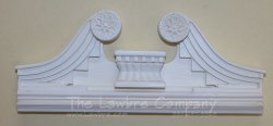 AE587 - Swan Neck Pediment