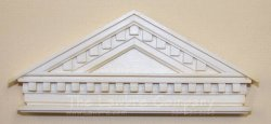AE589 - Classic Pediment w/Dentil
