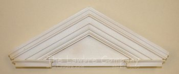AE593 - Triangular Door Pediment