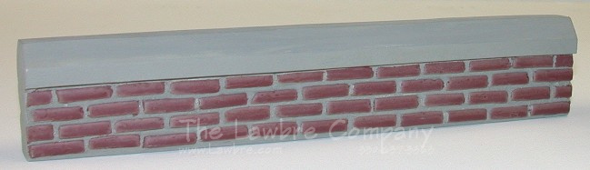 0456 - (B) Brick Fence Sections, 2/pk., Finished - Click Image to Close