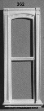 AE362 - Single Segmented Window - Tall